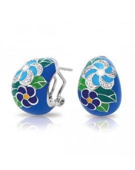 Melia Blue Earrings