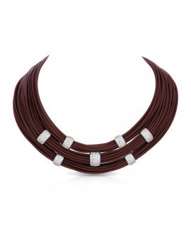 Legato Brown Necklace
