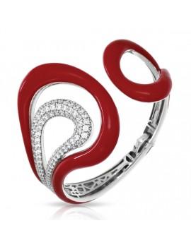 Vapeur Red Bangle