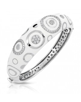 Galaxy White Bangle