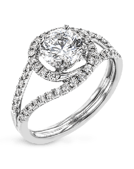 CR131-D ENGAGEMENT RING