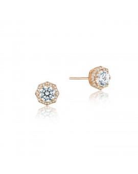 Art Deco Bloom Stud Earrings