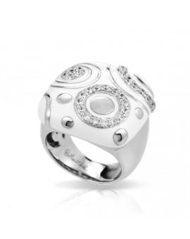 Galaxy White Ring