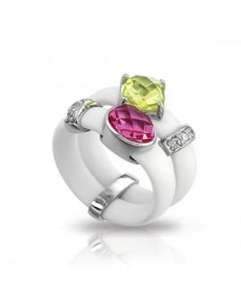 Venezia White Ring
