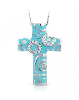 Galaxy Turquoise Cross Pendant