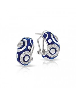 Galaxy Blue Earrings