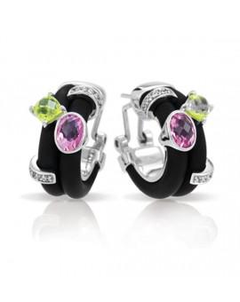 Venezia Black Earrings