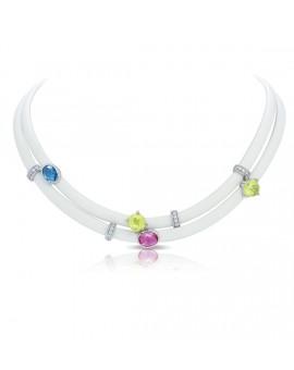 Venezia White Necklace