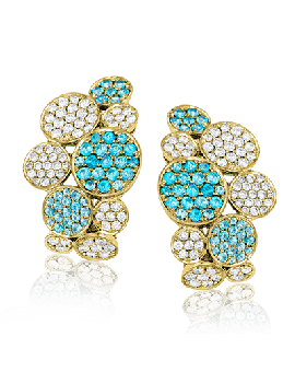LE2210-A COLOR EARRING