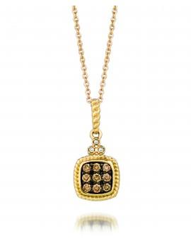 14K Honey Gold® Pendant