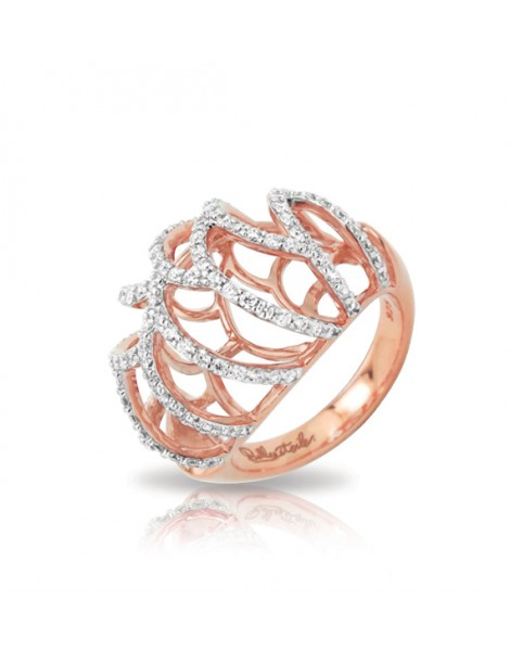 Monaco Rose Gold Ring