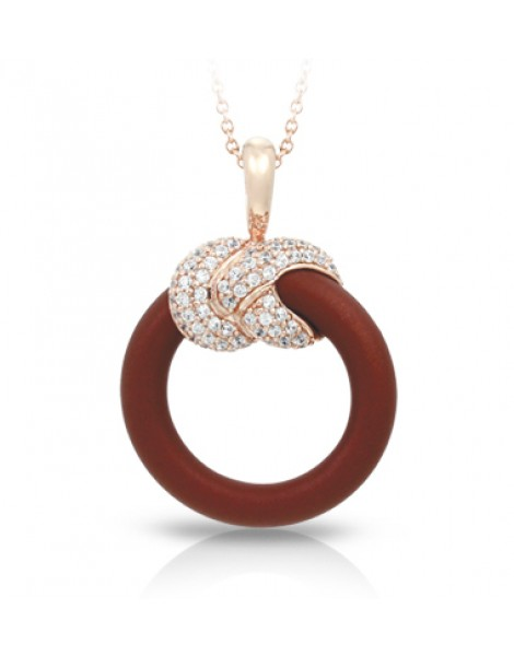Ariadne Brown and Rose Gold Pendant