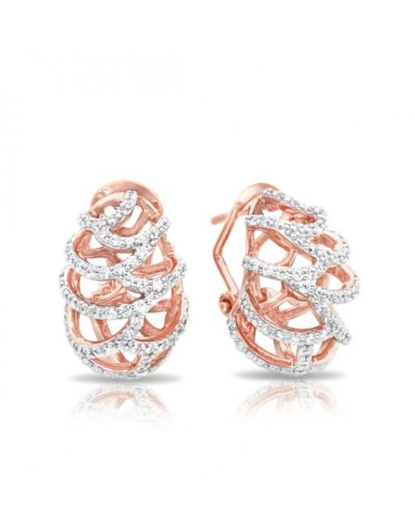 Monaco Rose Gold Earrings