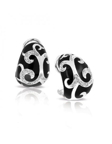 Royale Black Earrings