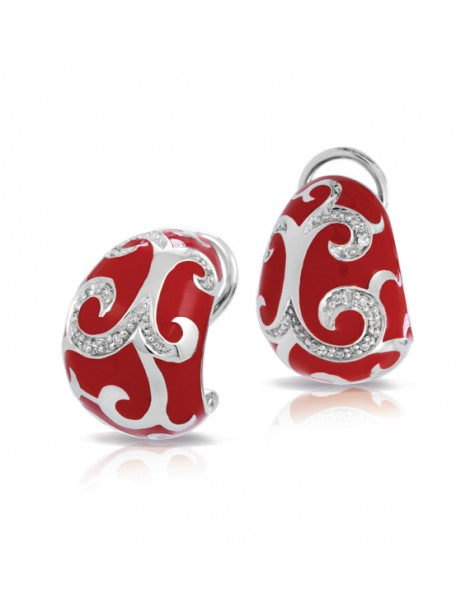 Royale Red Earrings
