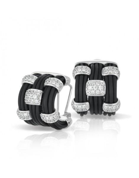 Legato Black Earrings