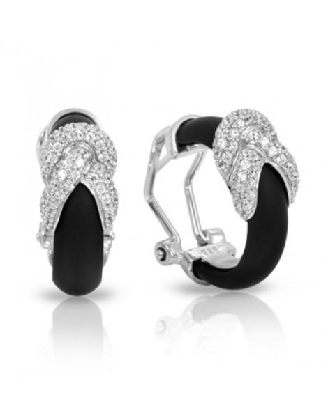 Ariadne Black Earrings