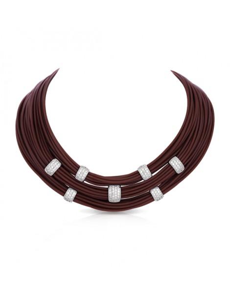 Legato Brown Necklace