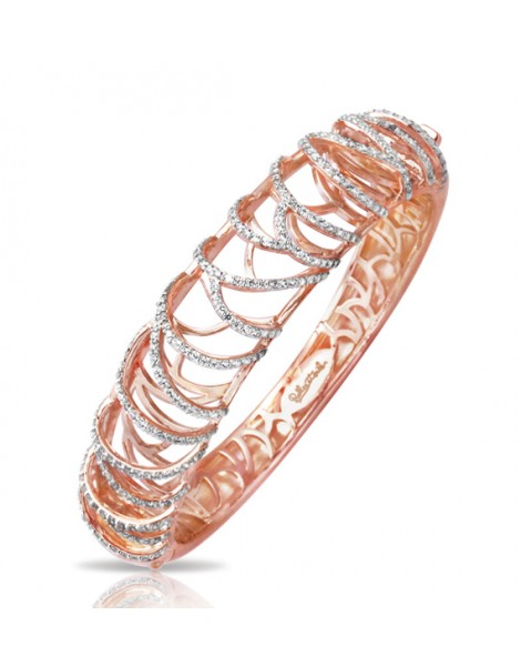 Monaco Rose Gold Bangle