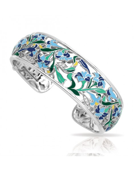 Morning Glory Blue Bangle