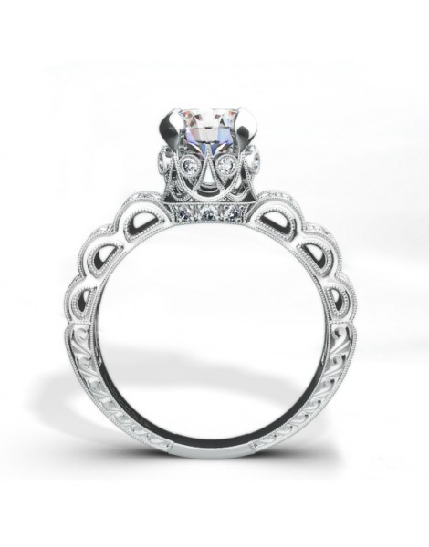 Kamara Diamond Bridal Ring Style 18RGL002741DCZ
