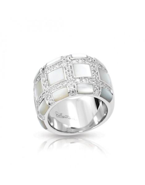 Regal White Ring