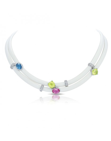 Venezia White Necklace
